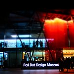 The Red Dot Design Museum shines like a jewel in the night