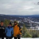 My family on the Pollard Brook hike.