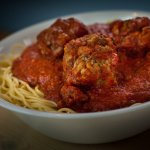 Spaghetti and meatballs!