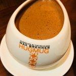 dark Italian hot chocolate