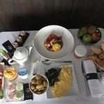 Petit-déjeuner en chambre : merci Min