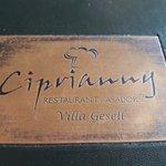 Carta del restaurant