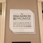 The Hilton Garden Inn Promise
