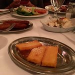 Side dishes - Mashed Potato, Polenta, Fried Banana