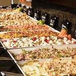 Abundant Gourmet Salad Selections