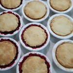 Fresh baked blackberry & peach cobblers! Yumm