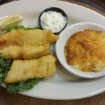 Hand dipped tempura fish & chips