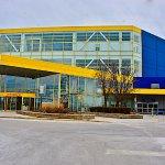 Exterior view of IKEA, Schaumburg IL