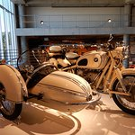 Gorgeous old BMW with sidecar
