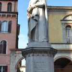 The Statue of Dante...Francesca will tell you the reason as to why is it here