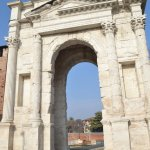 The Roman entry gate to the city
