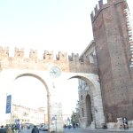 The entry to the old city of Verona... where the tour will start.