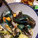 mussels are a must there!