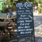 Mr. Ribs offers more than just ribs.