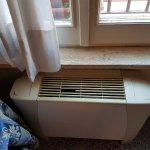 Broken heater vent