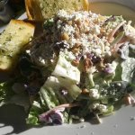 Harvest Salad, Kohlrabi, Cabbage, Carrots, Dried Pears & Cranberries, Blue Cheese Buttermilk Dre
