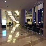 Lobby and restaurant area