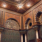 Moorish-inspired room