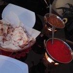 Kuře tikka masala + naan
