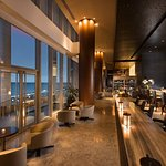 C Lounge is a contemporary lounge by day and sophisticated bar at night with views of Manila Bay