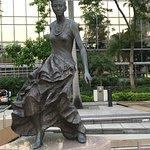 Statue at Avenue of the Stars Hong Kong