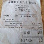 Photo of auberge des 7 tours