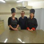 L'équipe de la Brasserie Le Longchamp , en cuisine