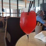 Julio's Spritz Cocktail $19. Not bad.