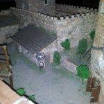 Castello medievale costruito a mano