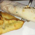 Veggie wrap/ spinach pie