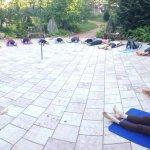 Summer Yoga in the Garden