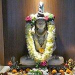 Hindu shrine in the foyer