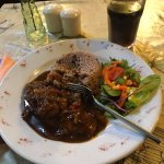 The best jerk chicken with rice and peas that you will ever taste!