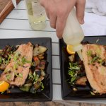 Sauteed Red Trout and Veggies