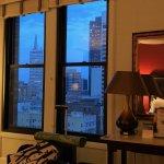 East city view 8th floor corner room.