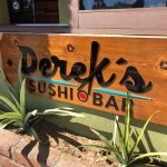 Derek's Sushi Bar, downtown Todos Santos