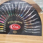 One piece, of the largest collection of case knives