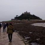 cobbled walk to the mount