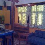 Bungalow,con cocineta en la Quinta Hostal Del Moncayo