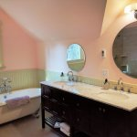 Part of the Deluxe 3rd Floor Suite Bathroom