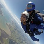 The most beautiful location to skydive