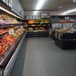 Well stocked supermarket