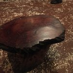 Real wooden stool