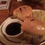 Prime Rib Sandwich and gravy