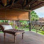 Suite Lodge private balcony