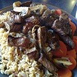 Steak lunch.
