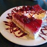 Berry cheesecake...