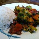 Beef & broccoli.