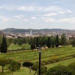Panoramic view from Union Buildings