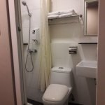 Small but clean bathroom